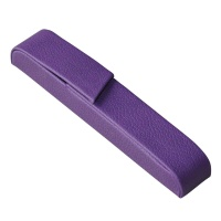 Pen Pouch ALASSIO Rivioli, leather-like, purple