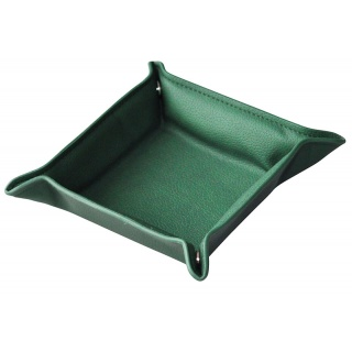 Przybornik na biurko ALASSIO Emilia, tacka, zielony, Przyborniki na biurko, Drobne akcesoria biurowe