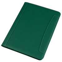 Organiser ALASSIO Messina, eco-leather, A4, green