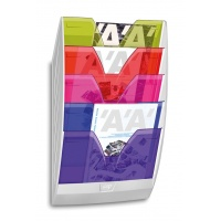 Zestaw naścienny CEP ReCaption, 5 półek, mix kolorów, Półki, Drobne akcesoria biurowe