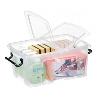 Pojemnik biurowy CEP Smartbox, 12l, transparentny, Pudła, Wyposażenie biura
