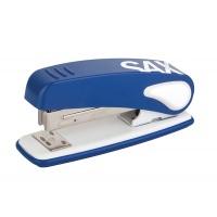 Zszywacz SAX239 Design, zszywa do 25 kartek, niebieski, Zszywacze, Drobne akcesoria biurowe