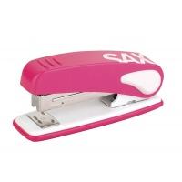 Zszywacz SAX239 Design, zszywa do 25 kartek, display, różowy, Zszywacze, Drobne akcesoria biurowe