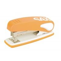 Zszywacz SAX239 Design, zszywa do 25 kartek, display, pomarańczowy, Zszywacze, Drobne akcesoria biurowe