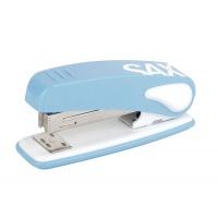 Zszywacz SAX239 Design, zszywa do 25 kartek, display, jasnoniebieski, Zszywacze, Drobne akcesoria biurowe