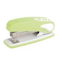 Zszywacz SAX239 Design, zszywa do 25 kartek, display, jasnozielony, Zszywacze, Drobne akcesoria biurowe