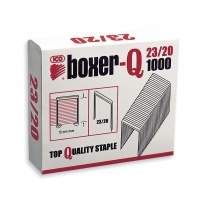 Staples ICO Boxer, 23/20, galvanised, 1000pcs