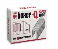 Zszywki ICO Boxer, 23/23, galwanizowane, 1000szt., Zszywki, Drobne akcesoria biurowe