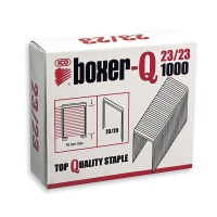 Staples ICO Boxer, 23/23, galvanised, 1000pcs