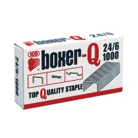 Staples ICO Boxer, 24/6, galvanised, 1000pcs