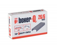 Staples ICO Boxer, 26/6, galvanised, 1000pcs