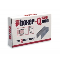 Staples ICO Boxer, 23/8, galvanised, 1000pcs