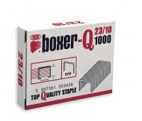 Zszywki ICO Boxer, 23/10, galwanizowane, 1000szt., Zszywki, Drobne akcesoria biurowe