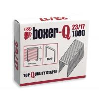 Zszywki ICO Boxer, 23/17, galwanizowane, 1000szt., Zszywki, Drobne akcesoria biurowe
