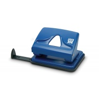 Hole Punch SAX 306, capacity up to 20 sheets, blue
