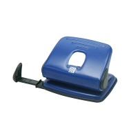 Hole Punch SAX 318, capacity up to 15 sheets, blue