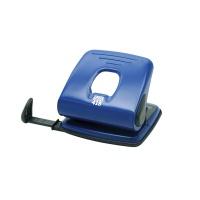 Dziurkacz SAX418, dziurkuje do 25 kartek, niebieski, Dziurkacze, Drobne akcesoria biurowe