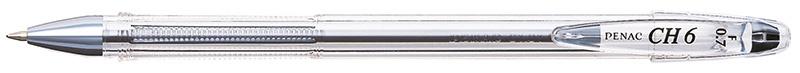 Długopis PENAC CH6 0,7mm, czarny