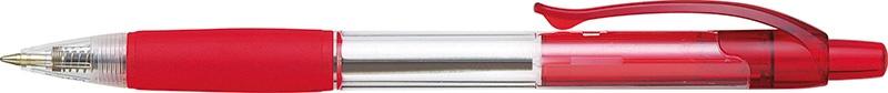 Długopis automatyczny PENAC CCH3 0,7mm, czerwony