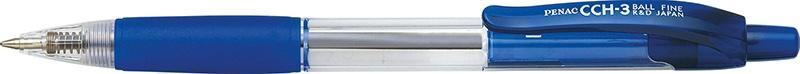 Długopis automatyczny PENAC CCH3 0,7mm, niebieski