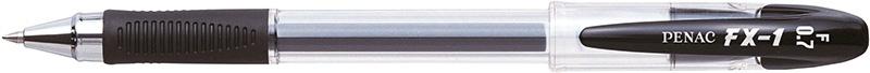 Długopis żelowy PENAC FX1 0,7mm, czarny