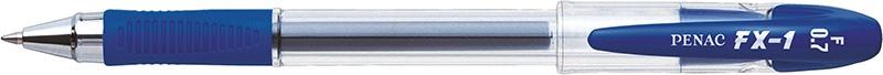 Długopis żelowy PENAC FX1 0,7mm, niebieski