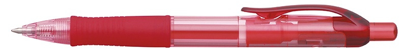 Długopis automatyczny żelowy PENAC FX7 0,7mm, czerwony