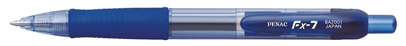 Długopis automatyczny żelowy PENAC FX7 0,7mm, niebieski