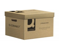 Pudło archiwizacyjne Q-CONNECT, karton, zbiorcze, szare, Pudła archiwizacyjne, Archiwizacja dokumentów