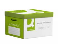 Pudło archiwizacyjne wzmocnione Q-CONNECT Power, karton, zbiorcze, zielone, Pudła archiwizacyjne, Archiwizacja dokumentów