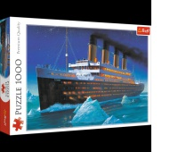 10080 1000 - Titanic / Trefl, Puzzle, Zabawki