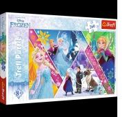 13238 260 - Magiczne wspomnienia / Disney Frozen, Puzzle, Zabawki