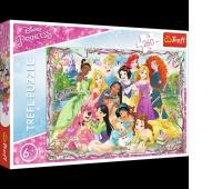 13242 260 - Spotkanie księżniczek / Disney Princess, Puzzle, Zabawki