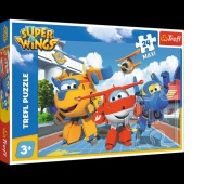 14252 24 Maxi - Wesołe samoloty / CJ E&M Super Wings, Puzzle, Zabawki