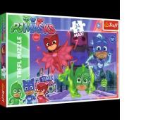 14262 24 maxi - Ukryci bohaterowie / E1 PJ Masks, Puzzle, Zabawki
