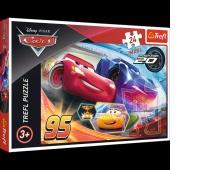 14264 24 Maxi - Niech wygra najlepszy / Disney Cars, Puzzle, Zabawki