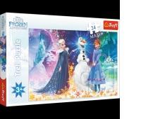 14265 24 Maxi - W świetle gwiazd / Disney Frozen, Puzzle, Zabawki