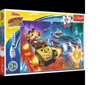 14266 24 Maxi - Smak przygody / Disney Mickey and the Roadster Racers, Puzzle, Zabawki