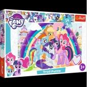 14269 24 Maxi - Szczęśliwe kucyki / Hasbro, My Little Pony, Puzzle, Zabawki