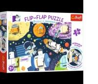 14272 36 Puzzle z okienkiem - Kosmos / Trefl, Puzzle, Zabawki