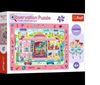 15533 70 Obserwacyjne - Odwiedzamy operę / Trefl, Puzzle, Zabawki