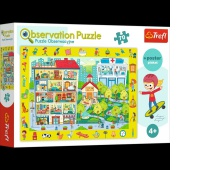 15534 70 Obserwacyjne - Odwiedzamy miasteczko / Trefl, Puzzle, Zabawki