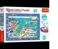 15536 70 Obserwacyjne - Odwiedzamy port / Trefl, Puzzle, Zabawki