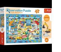 15538 70 Obserwacyjne - Odwiedzamy plac budowy / Trefl, Puzzle, Zabawki