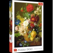 26120 1500 - Martwa natura z kwiatami / Bridgeman_L, Puzzle, Zabawki