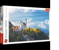 26133 1500 - Alpy Bawarskie / 500px_L, Puzzle, Zabawki