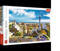 26147 1500 - Park Güell, Barcelona / 500px_L, Puzzle, Zabawki