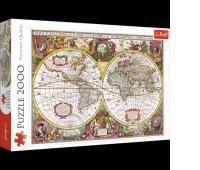 27095 2000 - Mapa Ziemi, 1630 / Bridgeman_L, Puzzle, Zabawki