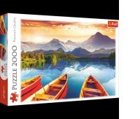 27096 2000 - Kryształowe jezioro / 500px_L, Puzzle, Zabawki