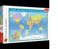 27099 2000 - Polityczna mapa świata / Meridian_L, Puzzle, Zabawki